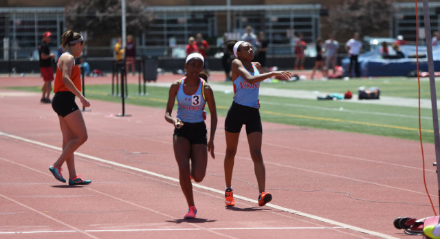 VASJ TRACK – Vikings girls 4×200 relay comes up just short of state bid