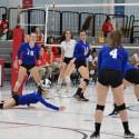 Girls Varsity Volleyball VS Trinity 9/27/2017