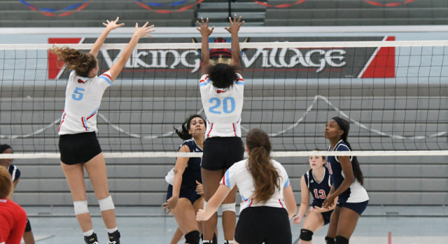 VASJ VOLLEYBALL – Vikings share NCL White title, prepare for postseason run