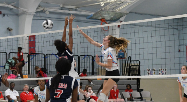 VASJ VOLLEYBALL – Vikings fall to Beaumont in district semifinal