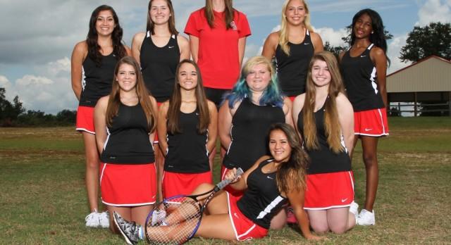 Girls Varsity Tennis Falls to Whitmire 1-5