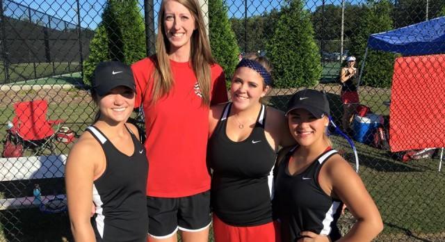 Fox Creek High School Girls Varsity Tennis falls to Batesburg-Leesville High School 1-5