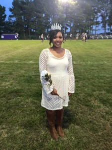 Fall Homecoming Queen Madison Faulkner