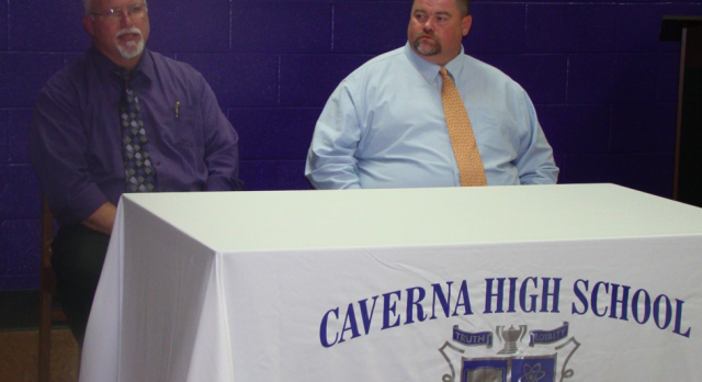 """Caverna finds """"good fit"""" for football"""