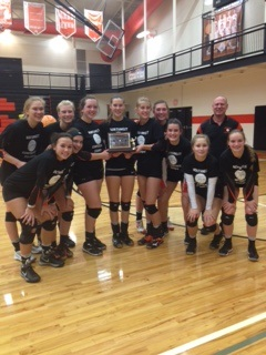 Kingsley Vollyball Wins Northwest Conference!