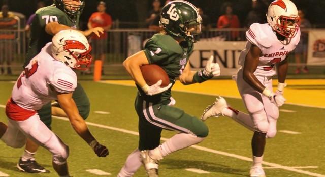 Dragons drop football opener to Chippewa Valley, 27-7