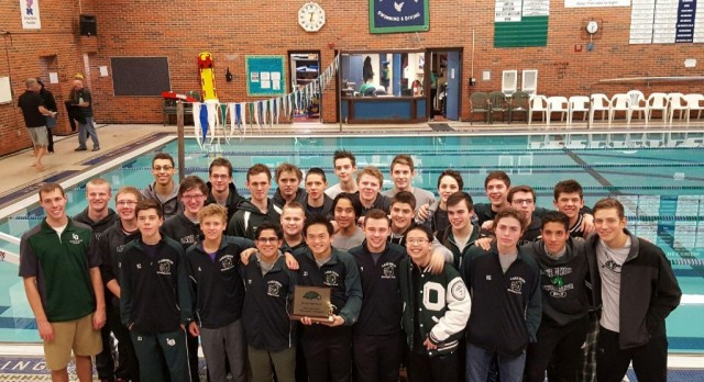 Lake Orion Swimming and Diving takes 1st at the Saginaw Heritage Relays