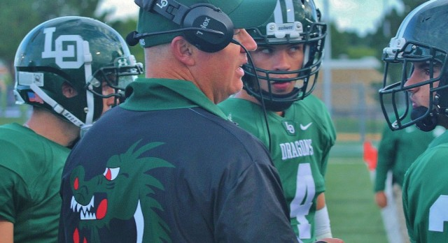 Lake Orion Athletic Director Chris Bell names long-time assistant John Blackstock as Dragons' new varsity football head coach