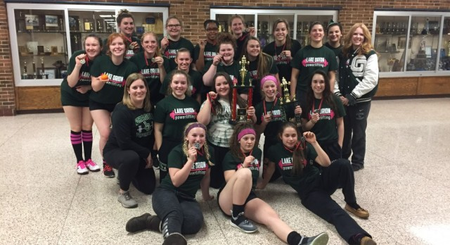 LO Powerlifting Places at Walled Lake Western