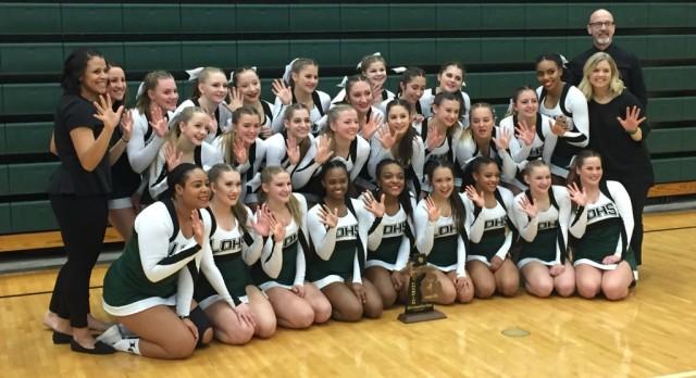 Dragon Cheer Wins 5th Straight District Championship
