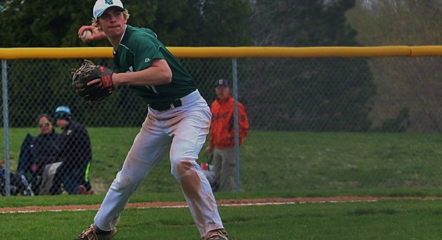 Dragons shut out Wolves on baseball diamond