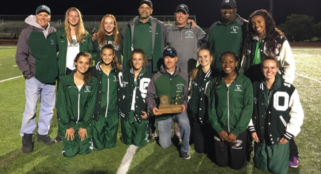Girls Track Finishes 2nd at Oakland County Meet