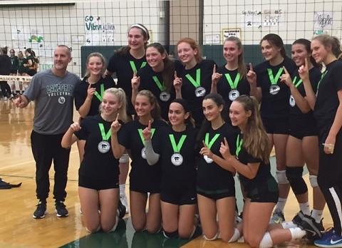 Lake Orion Dragons Volleyball Wins Novi Invitational
