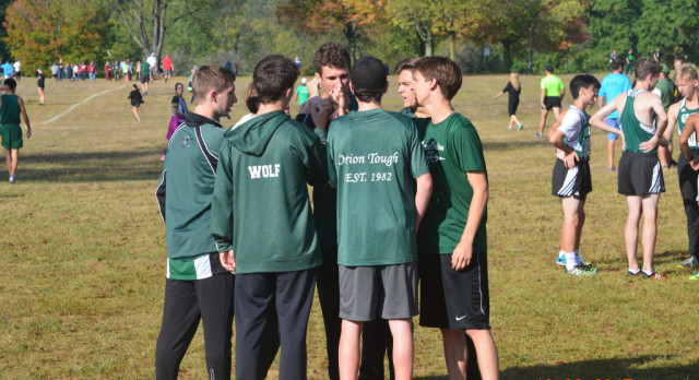 Men's CC 9th at Oakland County Championships