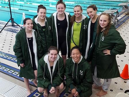 LOHS Girls' Swim County Team
