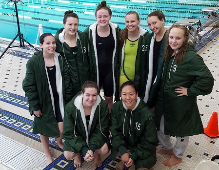 Lady Dragon Swimmers Shine at the Oakland County Meet