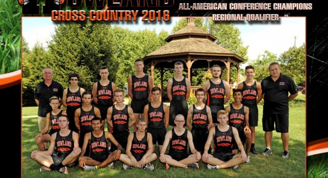 Congratulations…Boys' Cross Country AAC Red Tier Champions!