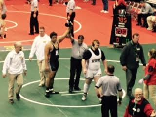 Junior Brandon Matlock takes 4th place OHSAA Division II State Wrestling Championships