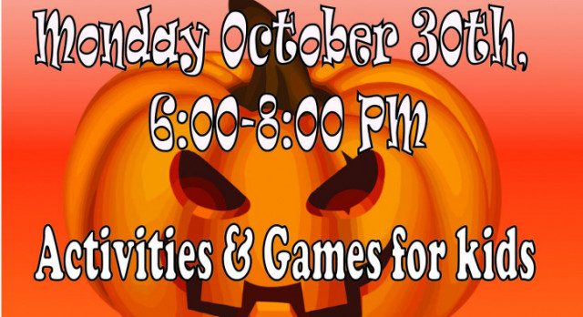 Haunted High School, October 30 from 6-8 pm