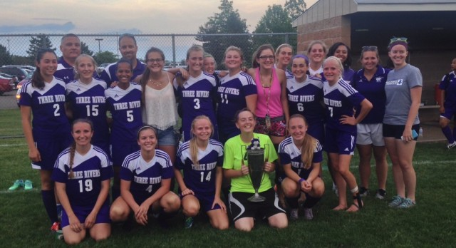 Three Rivers Girls Soccer Beats Sturgis