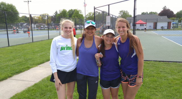 Erin Taylor Takes 3rd Place at Conference Tennis Tournament