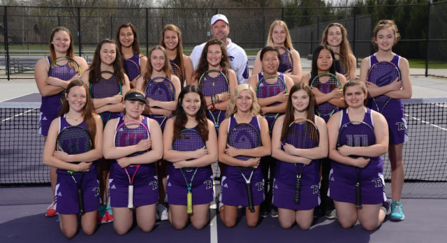 TR Girls Tennis Team Named All-State Academic!