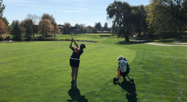 Girls Golf D-3 State Finals: Taylor & Hines compete at MSU