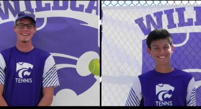 Boys Tennis: Wolverine Conference Tournament; Turner & Lingk medal