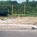 Progress on the New Athletic Fields and Building!