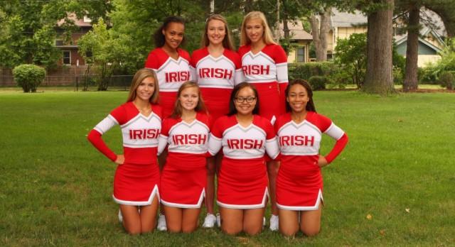 All alumni cheerleaders – join us to cheer on the Irish for the 2016 Homecoming Game this Friday! #GoIrish