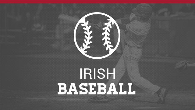 Fighting Irish Baseball information from Coach Mielcarek #GoFarGoIrish