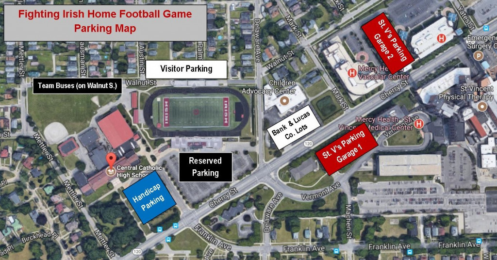 Football Parking Map Sept 2017