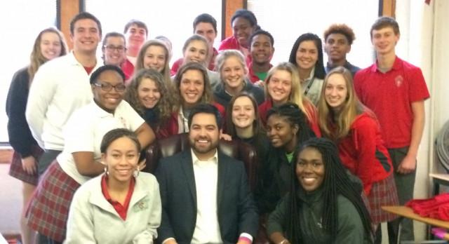 Jordan Strack Guest Speaker for Student-Athlete Advisory Council #GoIrish