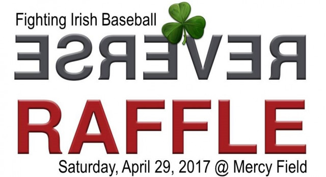 Baseball Reverse Raffle this Saturday, tickets are still available