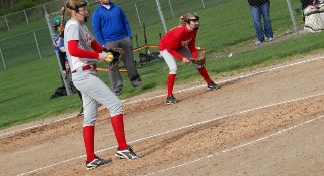 Lady Irish Softball win in grueling 11 inning game against SUA #GoFarGoIrish
