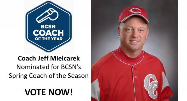Coach Jeff Mielcarek nominated for BCSN's Spring Coach of the Season – VOTE NOW #GoFarGoIrish