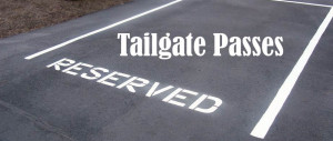 Parking reserved