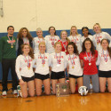 Photo: Lady Irish Volleyball Team, District Champions #GoFarGoIrish