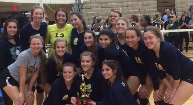 Volleyball Finishes 2nd at Romulus Invite