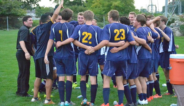 Boys Soccer Charges Back Late to top Inter-City Baptist