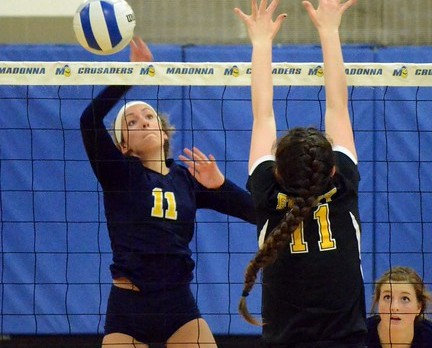 Volleyball Loses Thriller in CHSL Final