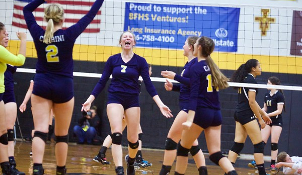 Three Volleyball Players Earn All State Honors