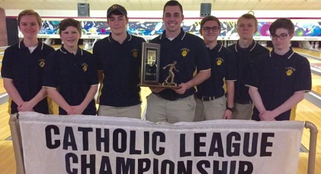Boys Bowling Wins Catholic League Championship!