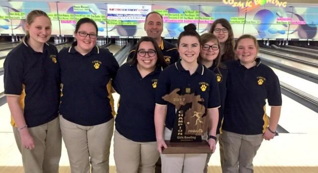 Girls Bowling wins Regional!