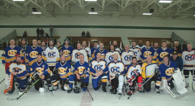 Alumni Hockey Game a Big Success
