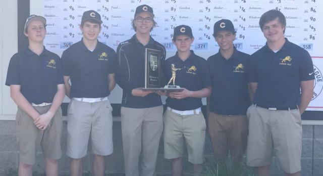 Three Monarchs Make All News Herald Boys Golf Team