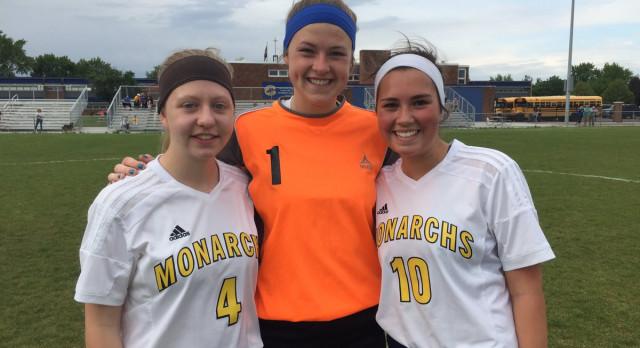 Girls Soccer ties St. Catherine