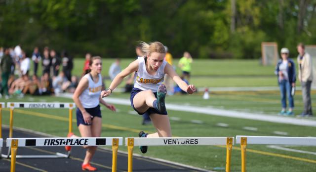 Girls Varsity Track finishes 2nd place