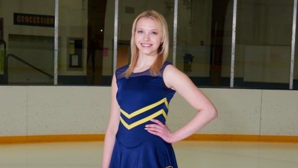 National Organization Recognizes Cabrini Figure Skater