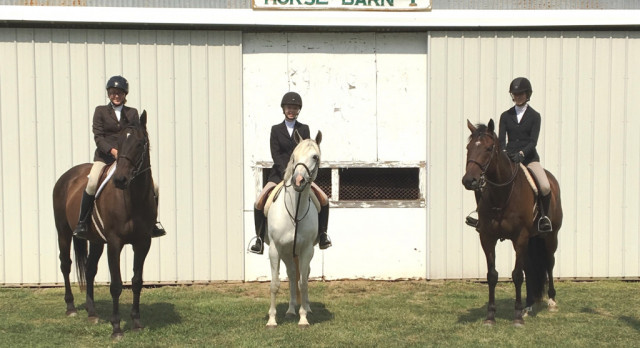 Equestrian Team Fares Well at First Competition